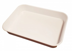 KB3 Deep Sided Plastic Catering Tray - Seconds