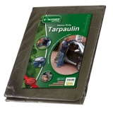 Heavy Duty 6ft x 4ft Tarpaulin Groundsheet 100gsm TP64